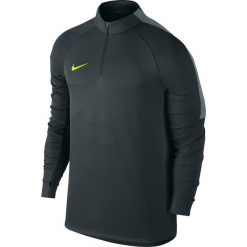 Nike Koszulka męska Squad grafitowa r. S (807063 364). Szare t-shirty męskie marki Nike, m, do piłki nożnej. Za 159,90 zł.