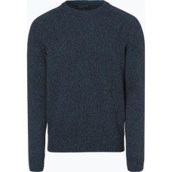 Nils Sundström - Sweter męski, niebieski. Niebieskie swetry klasyczne męskie marki OLYMP SIGNATURE, m, paisley. Za 179,95 zł.