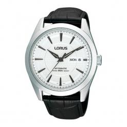 """Zegarek """"RL425AX9G"""" w kolorze czarnym. Czarne, analogowe zegarki męskie marki Lorus, Pulsar, ze stali. W wyprzedaży za 289,95 zł."""