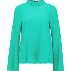 Bluzki asymetryczne: Topshop TIE BACK ROLL NECK Bluzka emerald