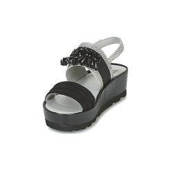 Sandały Mam'Zelle  OUEST. Czarne rzymianki damskie Mam'Zelle. Za 307,30 zł.