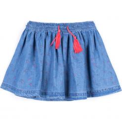 Spódnica. Niebieskie spódniczki dziewczęce z falbankami FOREST HEART, z bawełny. Za 44,90 zł.