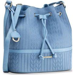 Torebka MONNARI - BAG1830-012 Blue. Niebieskie torebki worki marki Monnari, ze skóry ekologicznej, bez dodatków. W wyprzedaży za 129,00 zł.