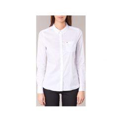 Koszule Tommy Jeans  YAPAD. Białe koszule jeansowe damskie marki Tommy Jeans, l. Za 309,00 zł.