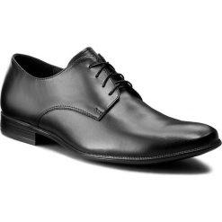 Półbuty SERGIO BARDI - Carlo FW127291217PL 101. Czarne buty wizytowe męskie Sergio Bardi, z materiału. Za 219,00 zł.