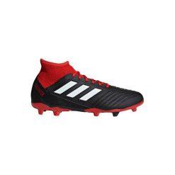 Buty do piłki nożnej Predator 3 FG korki. Brązowe buty skate męskie marki Adidas, z syntetyku, do piłki nożnej. Za 299,99 zł.