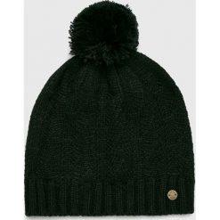 Roxy - Czapka. Czarne czapki damskie Roxy, na zimę, z dzianiny. W wyprzedaży za 69,90 zł.
