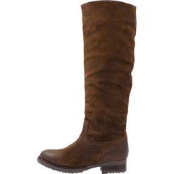 Mint&berry Kozaki brown. Brązowe buty zimowe damskie marki mint&berry, z materiału. Za 509,00 zł.