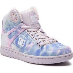Sneakersy DC - Pure High-Top Tx Se ADJS100115 Blue/Pink (Blp). Czerwone topy sportowe damskie DC, z materiału. Za 399,00 zł.