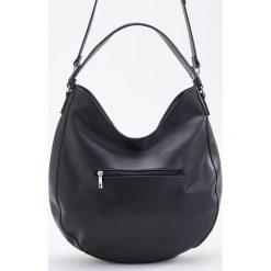 Torebka typu hobo - Czarny. Czarne torebki klasyczne damskie Reserved. Za 139,99 zł.