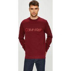 Calvin Klein - Bluza. Brązowe bejsbolówki męskie Calvin Klein, l, z nadrukiem, z bawełny, bez kaptura. Za 359,90 zł.