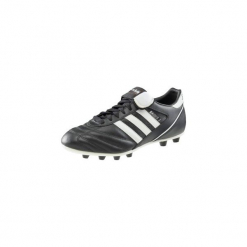 Buty do piłki nożnej Kaiser Liga FG. Czarne buty skate męskie Adidas, ze skóry, do piłki nożnej. Za 299,99 zł.