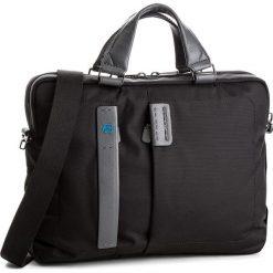 Torba na laptopa PIQUADRO - CA1903P16/N Czarny. Czarne torby na laptopa marki Piquadro, z materiału. W wyprzedaży za 739,00 zł.