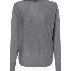 More & More - Sweter damski, szary. Szare swetry klasyczne damskie More & More, z dzianiny. Za 259,95 zł.