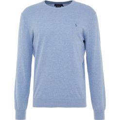 Polo Ralph Lauren SLIM FIT Sweter new campus heathe. Niebieskie swetry klasyczne męskie Polo Ralph Lauren, m, z bawełny, polo. Za 629,00 zł.