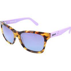 """Okulary przeciwsłoneczne damskie aviatory: Okulary przeciwsłoneczne """"JC649S 53W"""" w kolorze brązowym"""