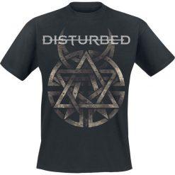 Disturbed Symbol T-Shirt czarny. Czarne t-shirty męskie z nadrukiem Disturbed, s, z okrągłym kołnierzem. Za 74,90 zł.