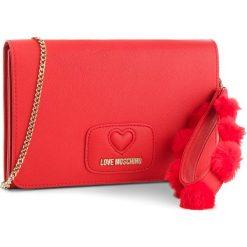 Torebka LOVE MOSCHINO - JC4285PP06KL0500 Rosso. Czerwone torebki klasyczne damskie marki Love Moschino, ze skóry ekologicznej. Za 719,00 zł.