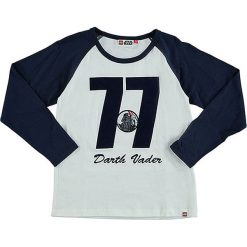 """T-shirty chłopięce z długim rękawem: Koszulka """"Teo"""" w kolorze granatowo-białym"""