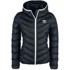 Kurtki damskie: Adidas Slim Jacket Kurtka zimowa damska czarny/biały