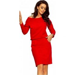 Numoco Sukienka Damska, L, Czerwona. Czarne sukienki marki Fille Du Couturier. Za 189,00 zł.
