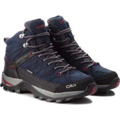Buty trekkingowe męskie: Campagnolo Buty męskie Rigel Mid Wp Asphalt/Syrah r. 45 (3Q12947/62BN)