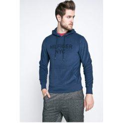 Tommy Hilfiger - Bluza. Szare bluzy męskie rozpinane marki TOMMY HILFIGER, l, z nadrukiem, z bawełny, z kapturem. W wyprzedaży za 319,90 zł.