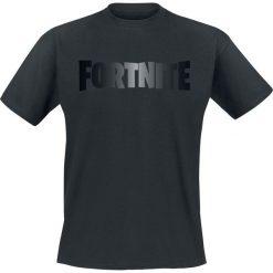 Fortnite Black Foil Logo T-Shirt odcienie ciemnoszarego. Szare t-shirty męskie z nadrukiem Fortnite, xxl, z okrągłym kołnierzem. Za 74,90 zł.