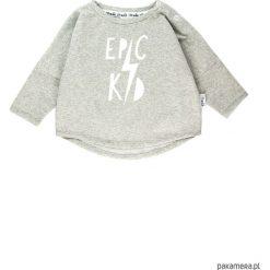 Bluza Epic kid - szary. Szare bluzy dziewczęce rozpinane marki Pakamera, z bawełny. Za 60,00 zł.