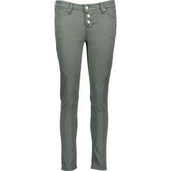 """Spodnie z wysokim stanem: Dżinsy """"Jasmin Button"""" w kolorze khaki"""