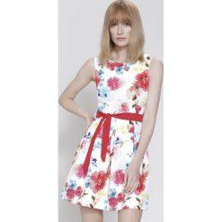 Sukienki: Biała Sukienka In Full Sun