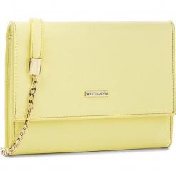 Torebka WITTCHEN - 86-4Y-103-Y Żółty. Żółte torebki klasyczne damskie Wittchen, ze skóry ekologicznej. W wyprzedaży za 119,00 zł.