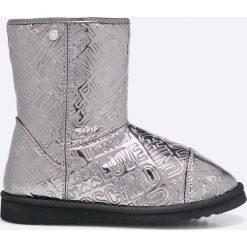 Love Moschino - Śniegowce. Czarne botki damskie na obcasie marki Mohito. W wyprzedaży za 429,90 zł.