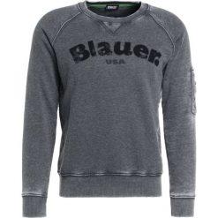 Bejsbolówki męskie: Blauer FELPA GIROCOLLO Bluza nero