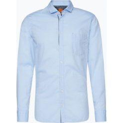 BOSS Casual - Koszula męska – Cattitude, niebieski. Niebieskie koszule męskie na spinki BOSS Casual, m, z tkaniny. Za 379,95 zł.