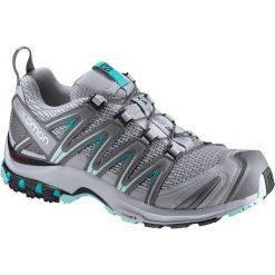 Salomon Buty damskie XA PRO 3D W  Quarry/Pearl Blue/Aruba Blue r. 40 (393291). Czarne buty sportowe damskie marki Salomon, z gore-texu, na sznurówki, outdoorowe, gore-tex. Za 353,43 zł.
