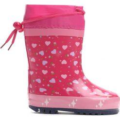 Różowe Kalosze Say Hi. Czerwone kalosze dziewczęce marki Born2be. Za 69,99 zł.