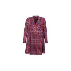 Sukienki krótkie Esprit  VEZA. Czerwone sukienki mini marki Esprit, z krótkim rękawem. Za 247,20 zł.