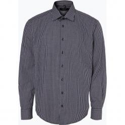 Andrew James - Koszula męska łatwa w prasowaniu, niebieski. Białe koszule męskie na spinki marki bonprix, z klasycznym kołnierzykiem. Za 99,95 zł.