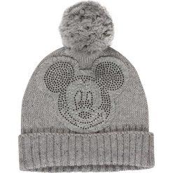 """Czapka """"Disney"""" w kolorze szarym. Szare czapki zimowe damskie Codello, z motywem z bajki, z dzianiny. W wyprzedaży za 107,95 zł."""