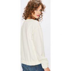 Pepe Jeans - Bluza Lisa. Brązowe bluzy z nadrukiem damskie Pepe Jeans, m, z elastanu, bez kaptura. W wyprzedaży za 239,90 zł.