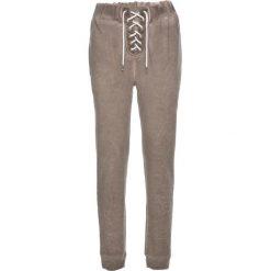 """Spodnie dresowe bonprix brunatny """"used"""". Brązowe spodnie dresowe damskie bonprix, z dresówki. Za 59,99 zł."""