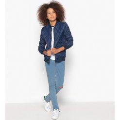 Jeansy skinny 10-16 lat. Białe spodnie chłopięce La Redoute Collections, z bawełny, z standardowym stanem. Za 102,86 zł.