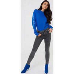 Rurki damskie: NA-KD Urban Bluza dresowa - Blue