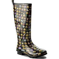 Kalosze GIOSEPPO - Mika 36609  Black. Czarne buty zimowe damskie Gioseppo, z materiału. Za 129,00 zł.