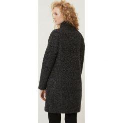 Płaszcze damskie pastelowe: Vero Moda Płaszcz wełniany /Płaszcz klasyczny dark grey melange