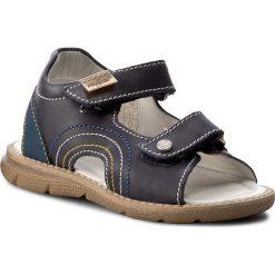 Sandały PRIMIGI - 7079400 S Vitello/Blue. Niebieskie sandały chłopięce Primigi, z nubiku. W wyprzedaży za 169,00 zł.
