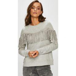 Only - Bluza. Szare bluzy rozpinane damskie ONLY, l, z bawełny, bez kaptura. W wyprzedaży za 99,90 zł.