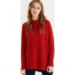 Sweter oversize - Czerwony. Czerwone swetry oversize damskie marki Sinsay, l. Za 49,99 zł.