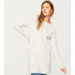 Sweter w zestawie z kominem - Jasny szar. Szare swetry klasyczne damskie marki Reserved, l, z kominem. Za 139,99 zł.